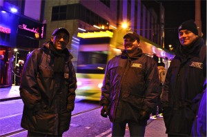 Street Pastors out and about!